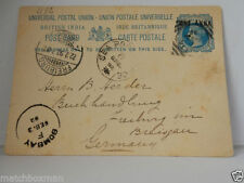 Pre-Decimal British Postal Card, Stationeries Stamps