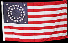 American Civil War Era 1863 - 1865 Circular Union Stars & Stripes National Flag