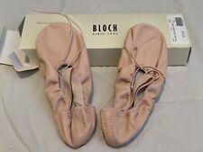bloch Pink ballet shoes Dansoft Size 1
