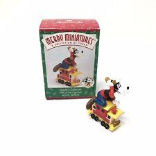 Hallmark Merry Miniatures Goofy'S Caboose Express Train Figurine