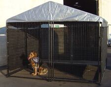 Big Dog Kennel Cage, Pet Wind Screen Extra Large Outdoor Heavy Duty Portable New