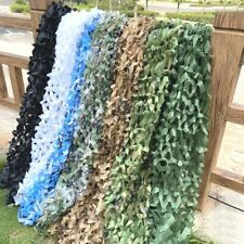Camo Netting Woodland Camouflage Mesh Netting Camping Tent Hunting Car Cover