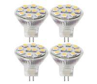 4 x LED Spot Light MR11 2W watt (20W Equivalent) 12V GU4 Lamp Light Bulb Bulbs