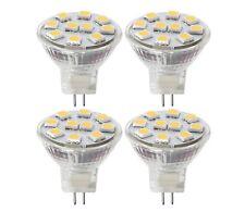 4 x LED Spot Light MR11 2W (20w Watt Equivalent) 12V GU4 Lamp Light Bulb Bulbs