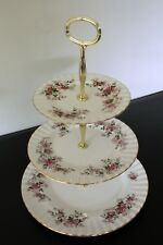 Royal Albert Lavender Rose 3 tier afternoon tea/cake stand Parkinsons charity