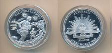 Australia: 1914-18 Gallipoli Landing ANZAC silver  Medal..