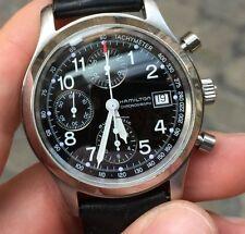 Hamilton Acciaio Automatico 382817 3828 kakhi field chrono chronograph 40 mm
