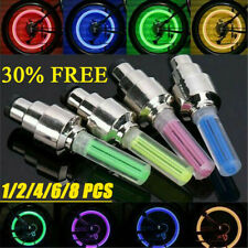 1-8pcs Valve Stem LED CAP for Bike Bicycle Car Motorcycle Wheel Tire Light lamp
