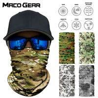 Seamless Neck Gaiter Scarf Hunting Bandana Motorcycle Shield Face Mask Balaclava