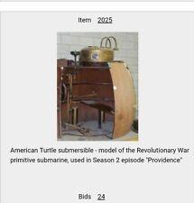 Turn washington's spies TURTLE SUBMERSIBLE PROP screen used season 2