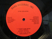 "EBONY ADAMS ""FLIM FLAM MAN""12in SUPER RARE DISCO FUNK"