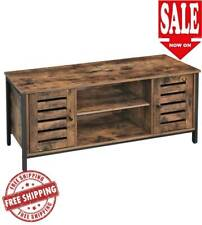 TV Stand Furniture Entertainment Center Unit Media Cabinet Side Board Rustic