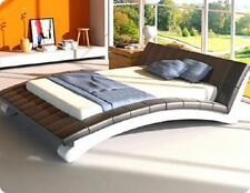 Wasserbett Bett Betten Komplett Lederbett Polsterbett mit Matratze  Neu IRINA*