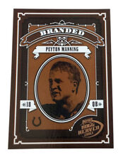 2003 Playoff Hogg Heaven - Branded #B-3 Peyton Manning Indianapolis Colts