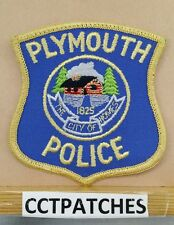 PLYMOUTH, MICHIGAN POLICE SHOULDER PATCH MI
