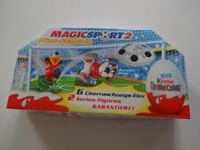 "Ferrero 6er Pack "" 2008 - Magic Sports 2 ohne Inhalt"