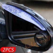 2X Left and Right Rear View Side Mirror Rain Snow Eyebrow Sun Visor Shade Shield