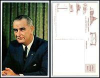 Vintage Postcard - President Lyndon Baines Johnson C1