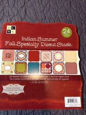 DCWV **RETIRED** INDIAN SUMMER / Fall SPECIALTY STACK 22 DIE CUT SHEETS RARE
