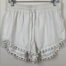 NWT Kensie Pom-Pom Drawstring Shorts Size M