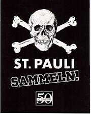 St. Pauli sammeln ! / 1  Leeres Sticker Album / Panini / Neu