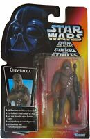 Star Wars Chewbacca Figure with Bowcaster and Blaster Rifle by Kenner