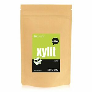 Wohltuer Bio Xylit Zucker Birken Beutel 1000g [MHD 05-21] 9