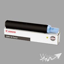 Genuine Canon GPR18 Black Toner ImageRUNNER 2016 2020 2030 0384B003AA GPR-18 GPR