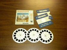 WORLD'S FAIR BRUSSELS 1958 (B760) Viewmaster 3 reels PACKET SET vintage