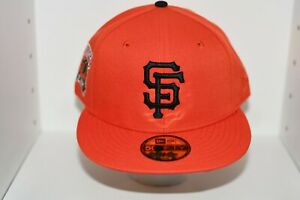 SAN FRANCISCO GIANTS 50th ANNIVERSARY PRIME EDITION NEW ERA FITTED HAT- Sz 7 5/8