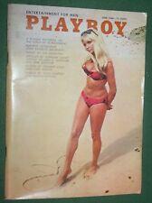 Playboy June 1968 Herbert Gold Britt Fredriksen John Kenneth Galbraith Interview