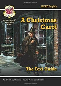 Grade 9-1 GCSE English Text Guide - A Christmas Carol (CGP GCSE ... by CGP Books