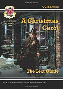 Grade 9-1 GCSE English Text Guide - A Christmas Carol (CGP GCSE ... by CGP Books