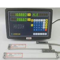 400/&1150mm 2Axis Digital Read Out Display TTL Linear Scale for Vetical Milling