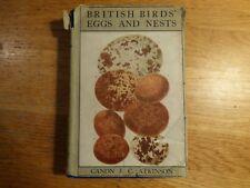 British Birds' Eggs and Nests,  Rev. Canon Atkinson,