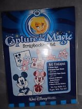 DISNEY WORLD BABY CAPTURE THE MAGIC SCRAPBOOK KIT PAPERS AND STICKERS