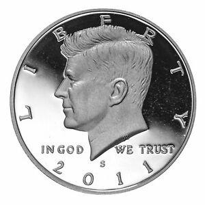 2011 S SILVER Proof Kennedy Half Dollar