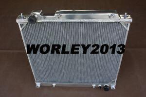 Aluminum radiator for MITSUBISHI Delica / L400 / Express / Starwagon 4 CYL 94-04