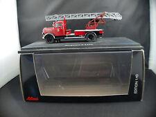 Schuco 03461 Pompiers Borgward B 2500 Feuerwehr Mayen camion neuf boite 1/43 MIB