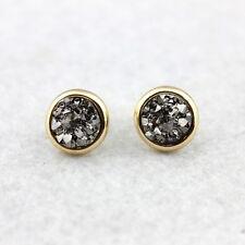 Boho Jewelry Faux Druzy Stud Earrings Druzy Stud Earrings Square Druzy Earrings