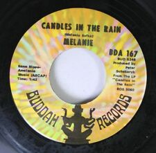 Rock 45 Melanie - Candles In The Rain / Lay Down On Buddah Records