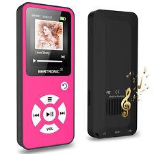 MP3-Player 8 GB Royal BC01 - 100 Stunden Wiedergabe, Schrittzähler - Pink -