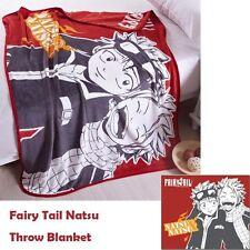 Japanese Anime Fairy Tail Natsu Plush Warm Soft Warm Coral Fleece Throw Blanket
