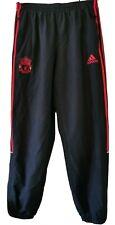 Liverpool Adidas Chándal Pantalones Hombre Chándal-Azul Marino/Rojo-Talla 38-Grande
