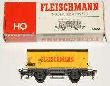 H0 Fleischmann 5022 Güterwagen mit LOGO OVP