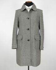 Women's STEFFEN SCHRAUT Wool Blend Grey Over Coat Jacket Size DE42 / UK12-14
