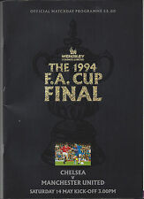 FA Cup Finale 14.05.1994 Wembley : CHELSEA LONDON - MANCHESTER UNITED