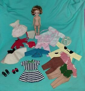 CUTE VINTAGE BETSY MCCALL DOLL W/ CLOTHES SOLD AS IS ❤