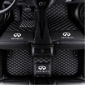 Fit for Infiniti G37 G35 G25 2008~2013 leather Car Floor Mats Waterproof +LOGO