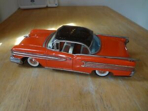 1958 ICHICO JAPAN TIN FRICTION OLDSMOBILE  PARTS